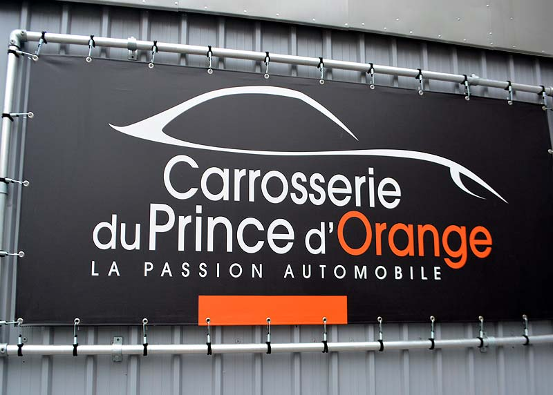 La bâche Carrosserie Prince d'Orange
