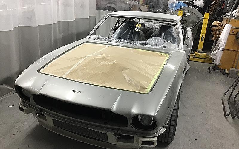 Aston Martin V8 Oscar India 1983